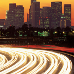 L.A. Light Trails -by Jim Corwin